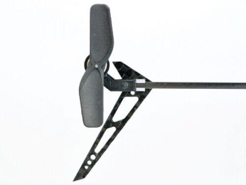 MCP X Carbon Fiber Vertical Fin Set MH-MCPX064VM Microheli Blade MCP S