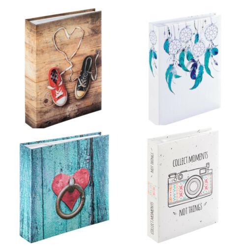 Album Fotobuch Fotoalbum  für 200 Fotos 10x15cm Platz für eine CD Hama