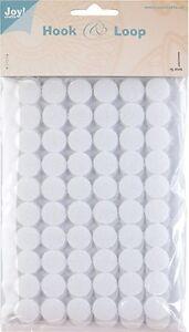Klettpunkte-Klettverschluss-rund-Verschluss-15-mm-SB-Beutel-60-Stueck-weiss-0070