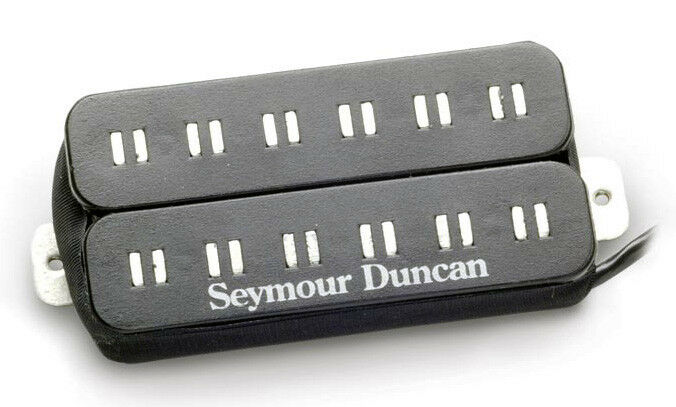 Seymour Duncan Duncan Duncan patb-3b ejes paralelos azuls sarceno F-spaced pastilla de puente, Negro 370252