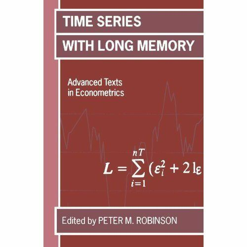 Time Series with Long Memory by Robinson, Peter M.-ExLibrary