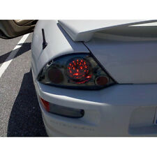 Smoked Fits 00-02 Mitsubishi Eclipse Philips-LED Tail Brake Lights Left+Right