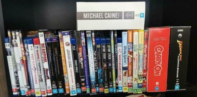 DVD & Blu-Ray Reg 4 & B Boxsets & Singles Comedy Sci-Fi Action Disney Marvel etc