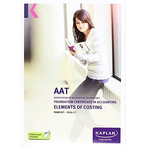 AAT Elements of Costing - Exam Kit-ExLibrary