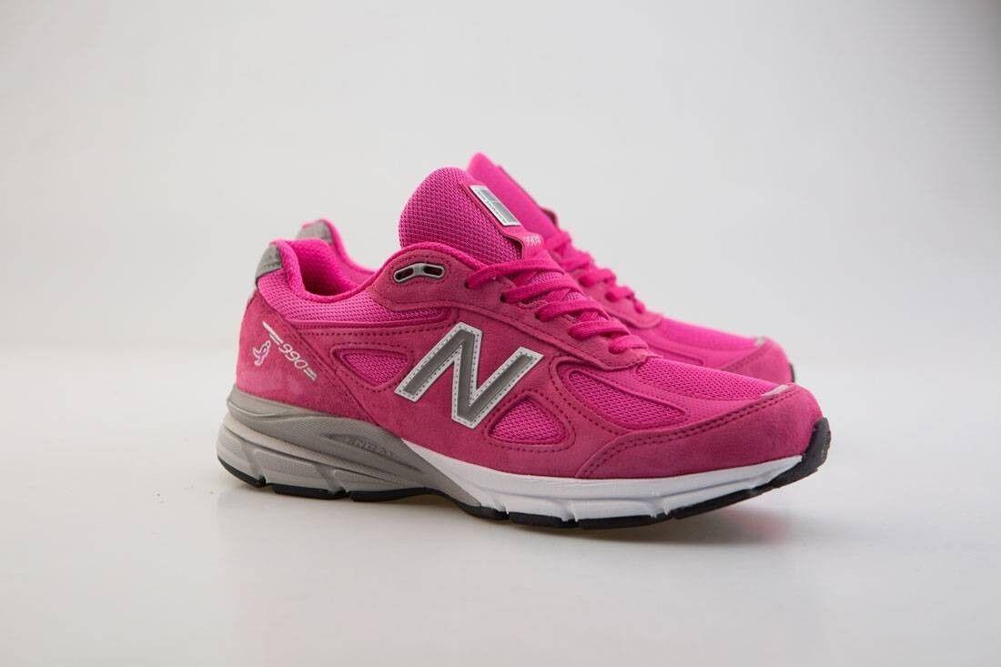 New balance männer männer balance rosa schleife 990v4 m990km4 - made in usa pink, pink - silver komen m 4acb70