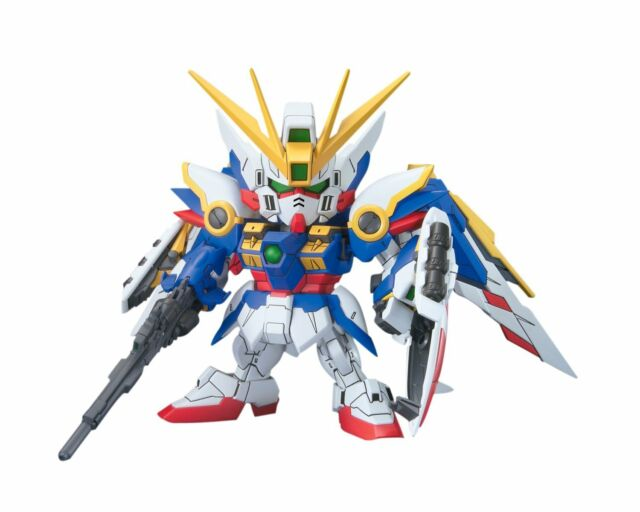 Bandai SD BB 366 Gundam W Endless Waltz XXXG-01W Wing Gundam Model Kit Japan