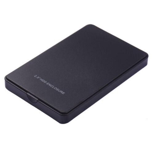 2.5 inch SATA HDD Enclosure 2TB Super-speed USB 2.0 HD Hard Drive Box Case