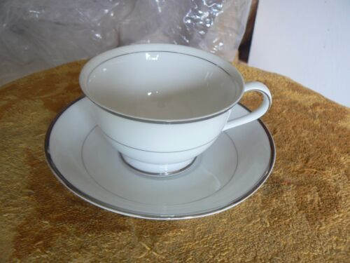 Harmony House Silver Melody cup and saucer 4 available