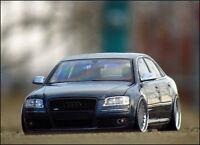 1:18 Tuning Audi A8 4.2L TDI in S8 Optik + Alu-Felgen mit OVP = RAR & LIMITIERT