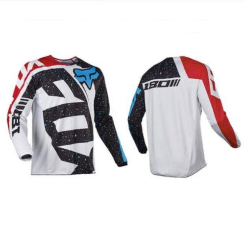 UK FOX Mens Racing Jerseys Off-Road Motocross Mountain Long Sleeve Bike Clothing