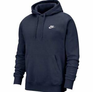 Details about NWT Men's Nike Sportswear Club Fleece Pullover Hoodie Galactic Jade Green