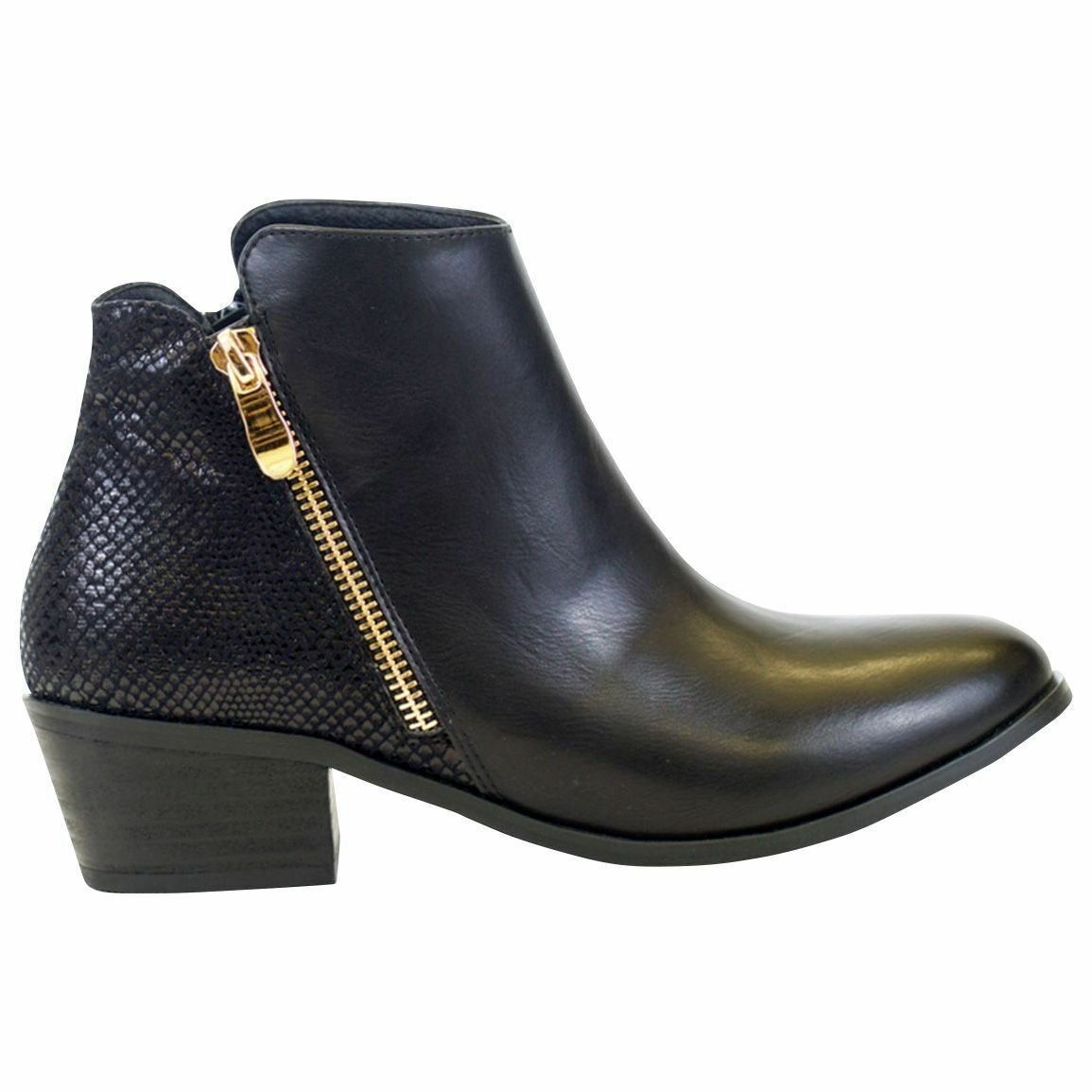 Women's GC Shoes Keller Bootie Black Size 6 #NJCHA-444