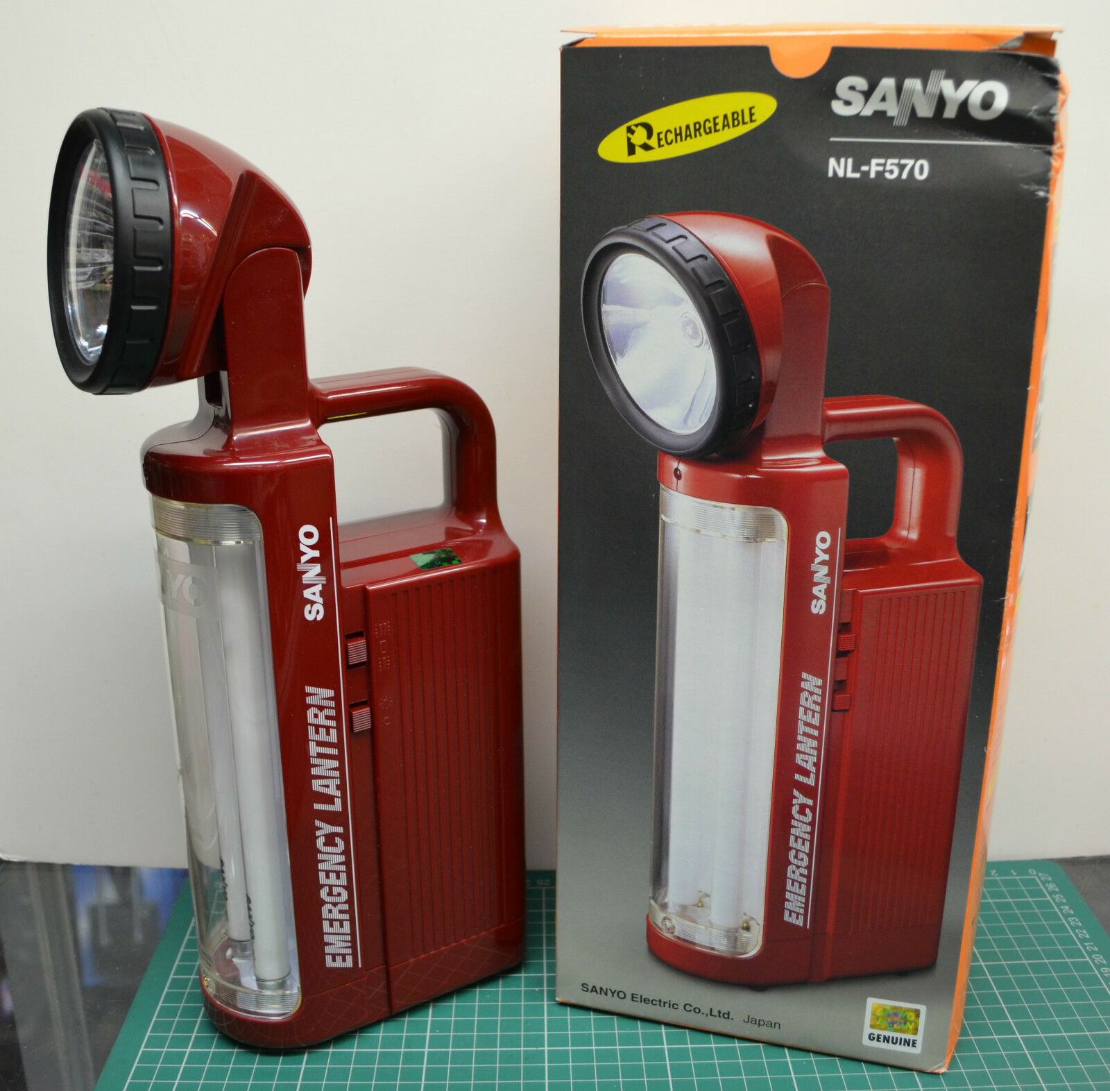 SALE Sanyo NL-F570 Rechargeable Rechargeble  Emergency Torch Tubelight Spotlight  limited edition