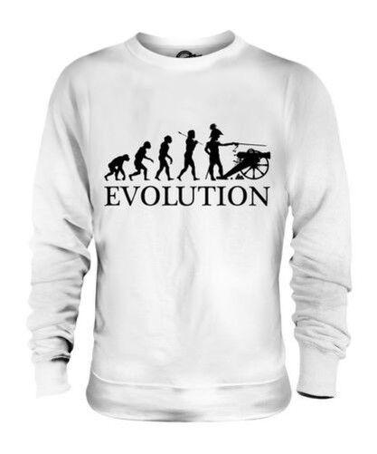 American Civil War Evolution Of Man Unisex Suéter Hombre Mujer Regalo Recreación