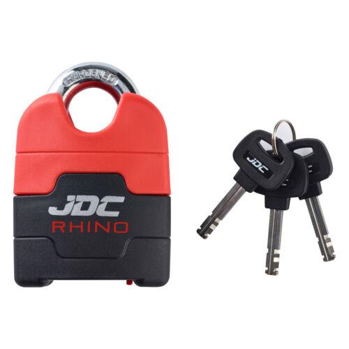 10 mm JDC Moto Moto Chaîne Lock Heavy Duty Acier Cadenas-RHINO