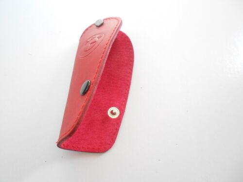 CAR KEY REMOTE FOB GLOVE COVER E39 E38 E46 X5 X3 RED # 1