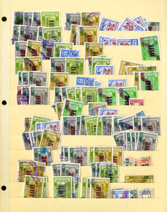 Israel-Massive-Unsearched-Revenue-Stamp-Collection-Over-500-Issues