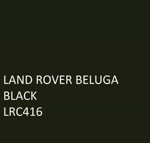 land rover beluga black Agricultural Machinery Equipment Enamel Gloss Paint