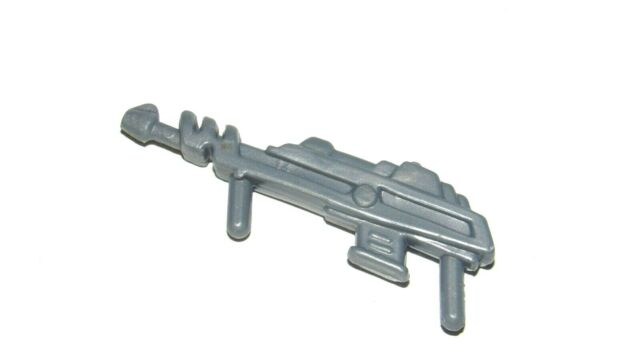 silver laser gun : He-Man Masters of the Universe MOTU Vintage part accessory
