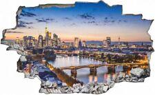 Frankfurt Stadt Skyline City Wandtattoo Wandsticker Wandaufkleber C0307