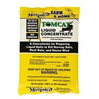 Motomco Tomcat Liquid Rat And Mouse Killer & Poison 8 Pack Box