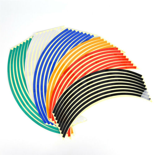 Strips Wheel Stickers And Decals For Reflective Rim Tape Bike Motorcycle Car HGU