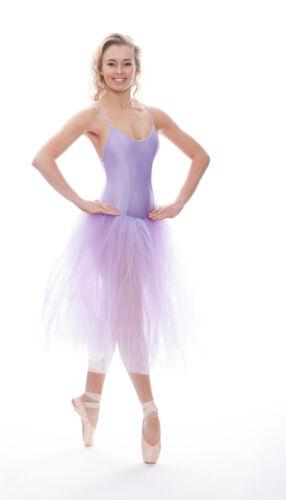 Girls Ladies Lilac Romantic Ballet Dance Tutu All Sizes By Katz Dancewear