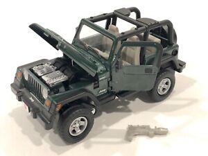 Transformers ALTERNATORS HOUND G1 Jeep Binaltech 2004 1:24 *COMPLETE MINT*