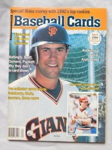 Will Clark Giants April 1990 Baseball Cards Price Guide
