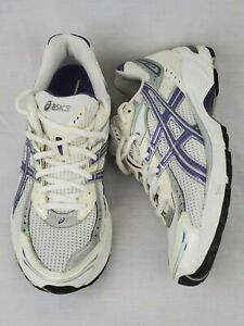 Details zu Asics Gel 1140 White Purple Women's Size 8.5 Walking Running Shoes T964N