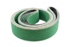 Narzędzia 3 Pack 4 X 21 3/4 Inch 120 Grit Metal Grinding Zirconia Sanding Belts Elektronarzędzia
