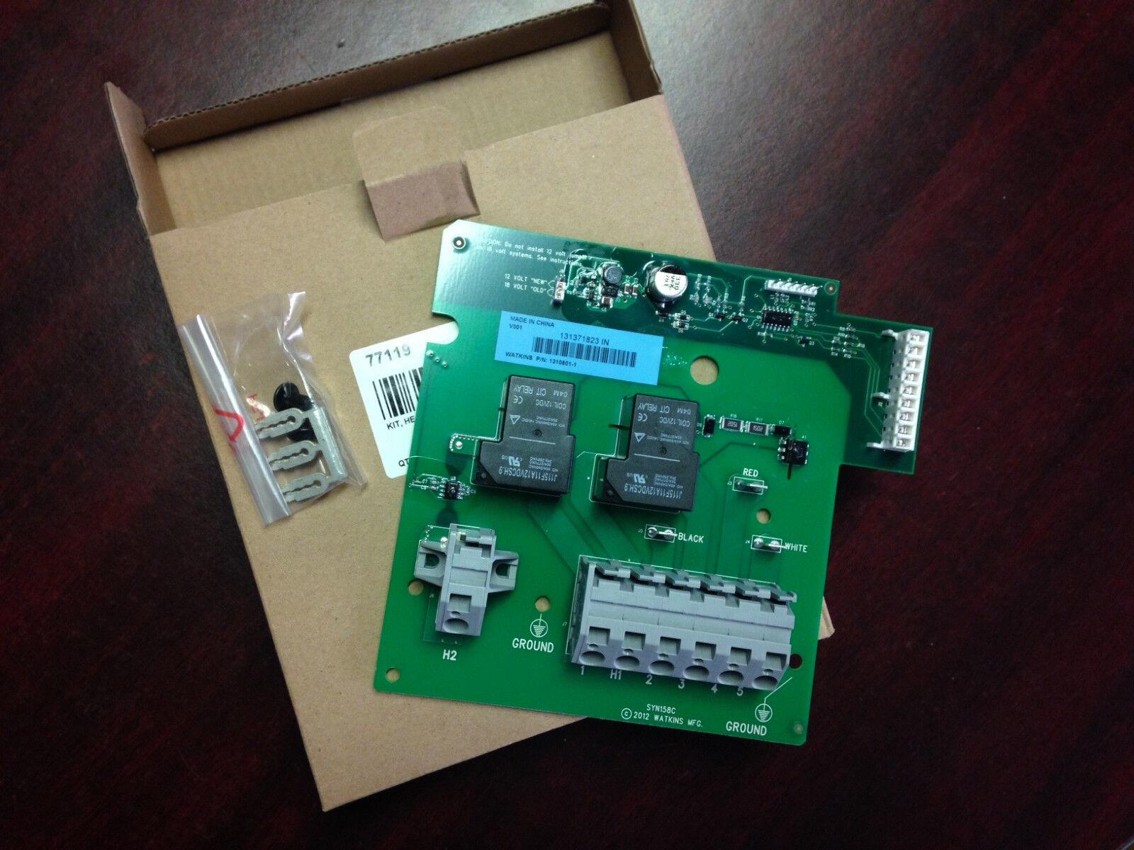 Hot Spring Iq 2020 Calentador Relay Board W   Jumpers 74618 (nuevo número de parte  77119)