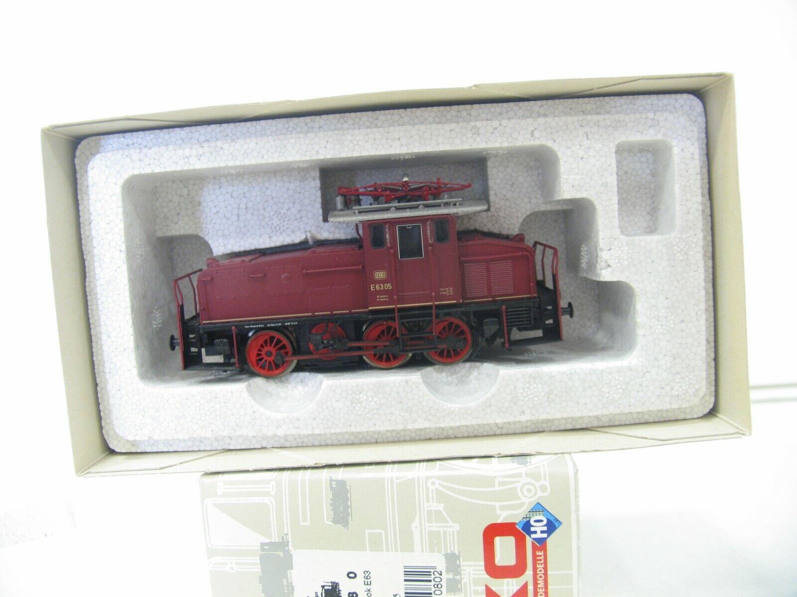Piko 51080 e-Lok e 6305 rojo de la DB nh1751
