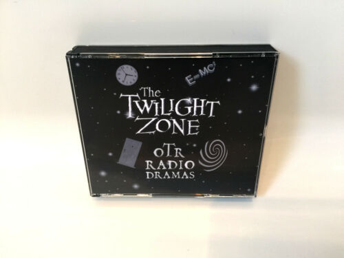 The TWILIGHT ZONE - Old Time Radio (OTR) Complete 176 Shows (4 x mp3 CD's)