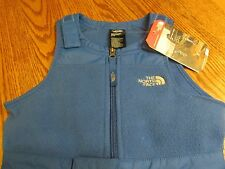 The North Face Toddler Boy Girl Monster Blue Insulated Bib Snow Pants 2T NWT $99
