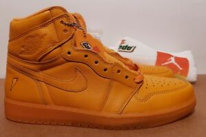 Size 11 Nike AIR JORDAN 1 RETRO HI OG G8RD GATORADE ORANGE PEEL New ... a16603a76