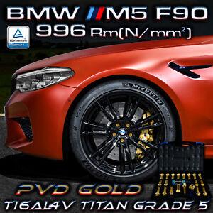 BMW M5 F90 PERFORMANCE 996 Rm[N/mm²] Original PTP Titan Radschrauben PVD GOLD - Essen, Deutschland - BMW M5 F90 PERFORMANCE 996 Rm[N/mm²] Original PTP Titan Radschrauben PVD GOLD - Essen, Deutschland