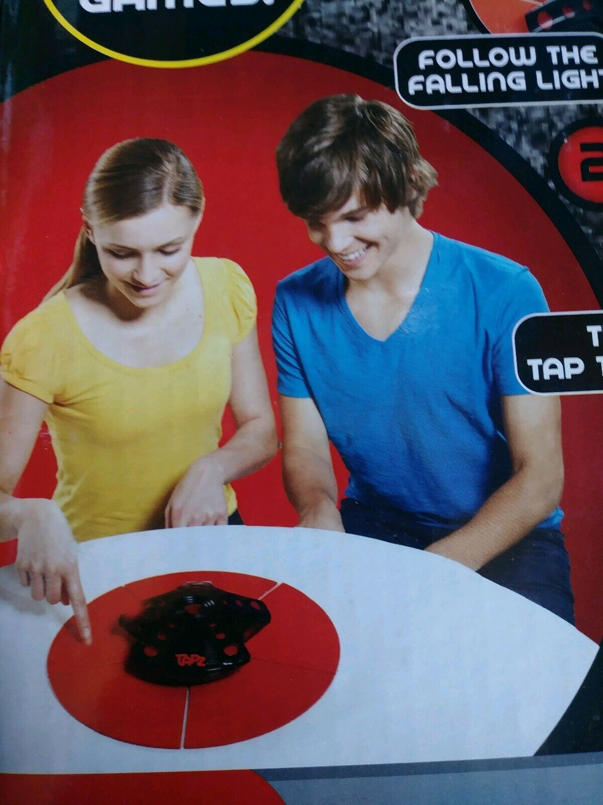NIB Radica TAPZ Electronic Game -The Reflex Game That Never Misses A Beat-