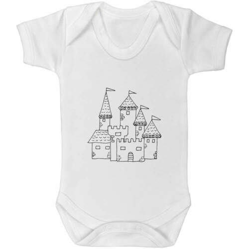GR014065 /'Mittelalterliche Burg/' Baby Body Unisex