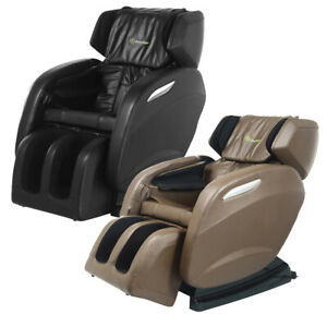 Full Body Massage Chair +3yrs Warranty! Recliner Shiatsu Heat Zero Gravity New