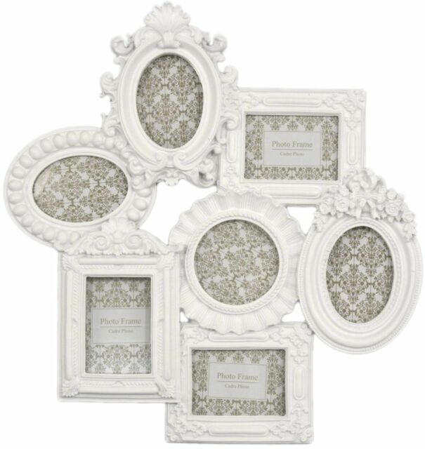 Family Multi Picture Photo Frame 7 Piece Aperture Frames Wall Set ...