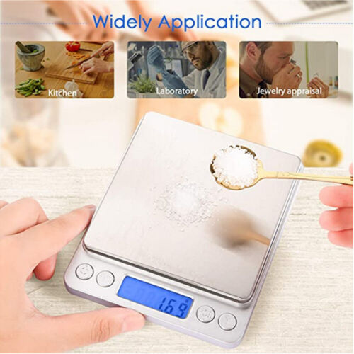 3000g Digital Kitchen Scale For Food Baking And Cooking Pocket Scales LCD Grams