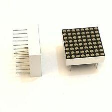 4pcs Dot Matrix 8x8 3.7 mm Red DEL Display Common Cathode