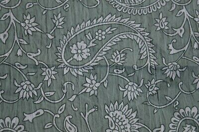 2.5 Yard By Fabric  Indian Hand Made Block Print Fabric 100/% Cotton Crafting By