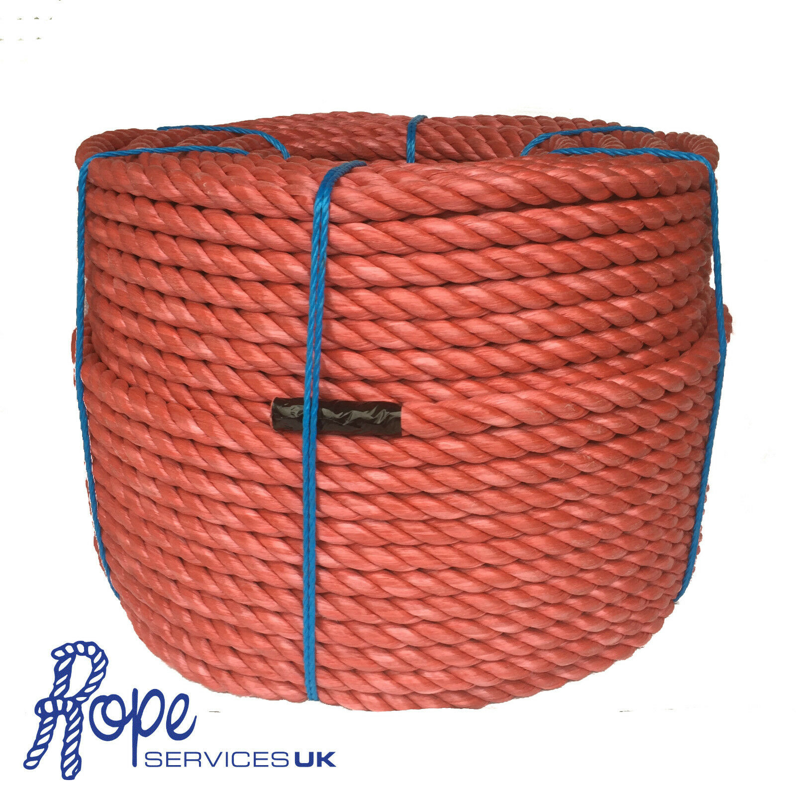 28mm x 50 mts Red Poly Rope Coils, Polyrope, Polypropylene, Agriculture, Camping