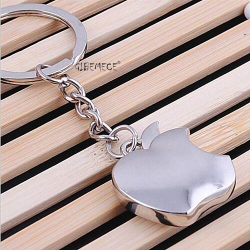 Novelty Souvenir Metal Apple Key Chain Creative Gifts Apple Keychain Key Ring