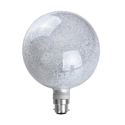 Modern Large 3W LED Sparkle Globe Light Bulb BC B22 Cool White Lamp Lightbulb