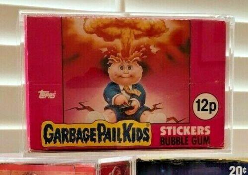 UK Garbage Pail Kids Protective Display Case//Box//GPK//Topps//Complete Box
