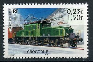 STAMP-TIMBRE-FRANCE-NEUF-N-3407-CHEMIN-DE-FER-TRAIN-CROCODILE
