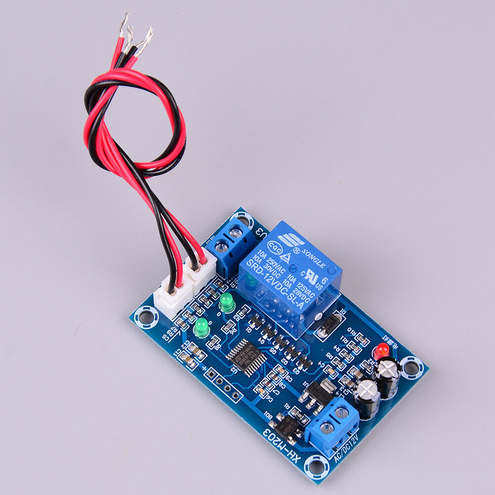 Xh M203 Ac Dc 12v Full Automatic Water Level Controller Pump Switch Simple Circuit Relay Module Ebay